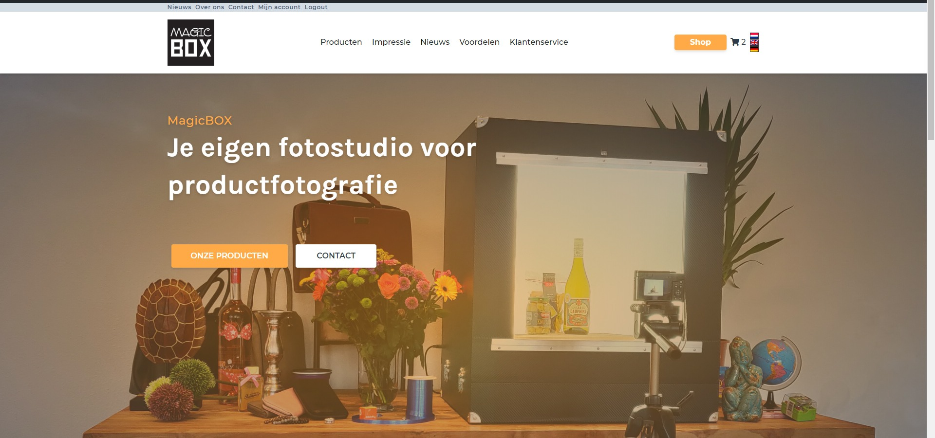 Productfotografie MagicBOX